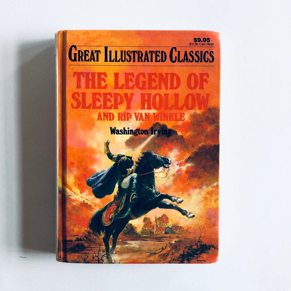 Hardcover book: The Legend of Sleepy Hollow & Rip Van Winkle by Washington Irving