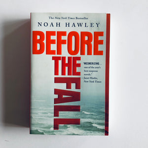 Paperback book: Before the Fall by Noah Hawley