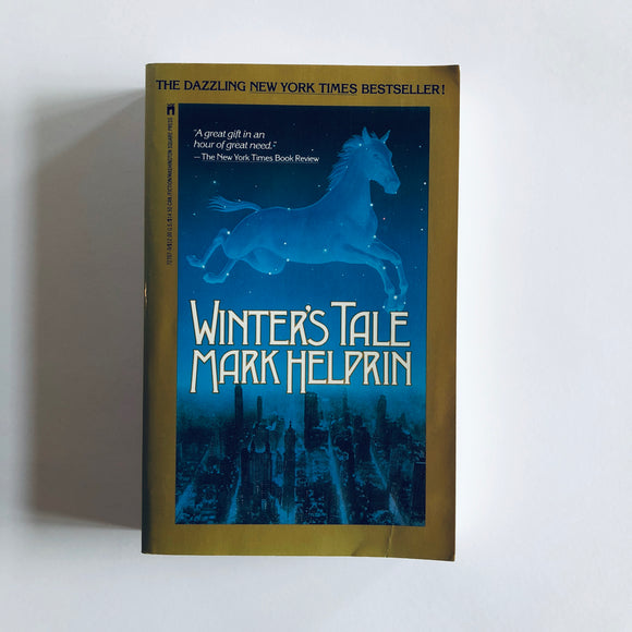 Paperback book: Winter's Tale by Mark Helprin