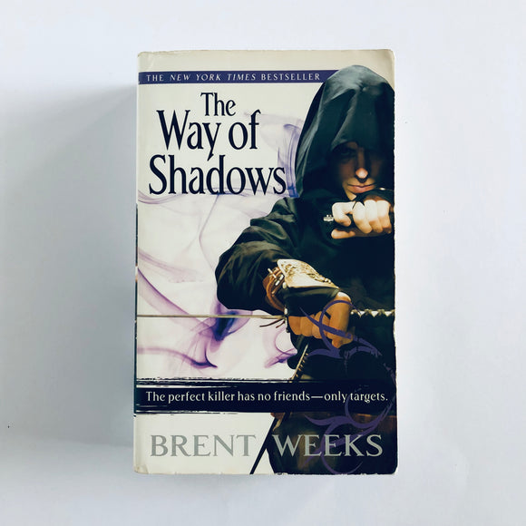 Paperback book: The Way of Shadows by Brent Weeks