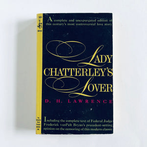 Paperback book: Lady Chatterley's Lover by D.H. Lawrence