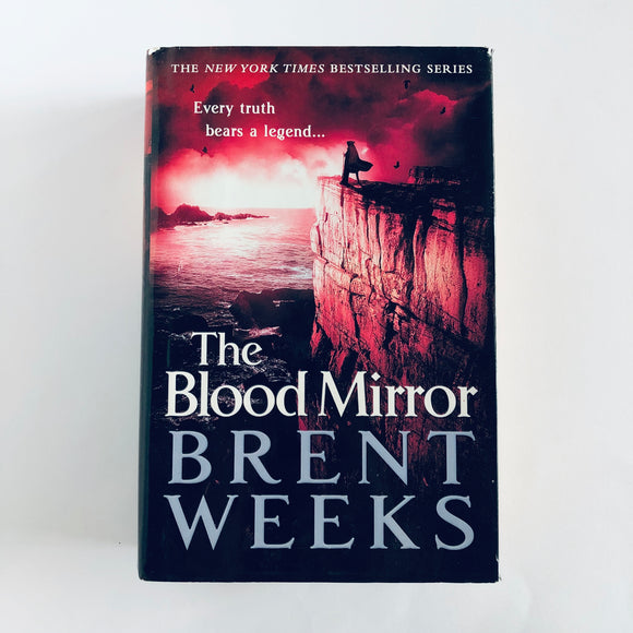 Hardcover book: The Blood Mirror by Brent Weeks