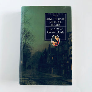 Hardcover book: The Adventures of Sherlock Holmes by Sir Arthur Conan Doyle