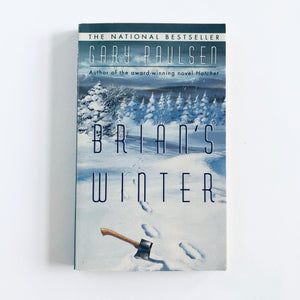 Paperback book: Brian's Winter by Gary Paulsen