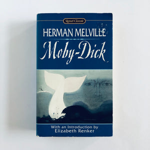 Paperback book: Moby Dick by Herman Melville