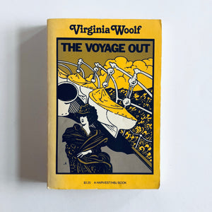 Paperback book: The Voyage Out by Virginia Woolf