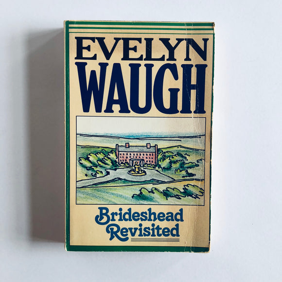 Paperback book: Brideshead Revisited by Evelyn Waugh