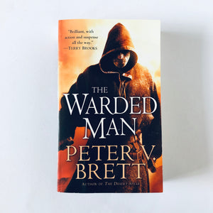 Paperback book: The Warded Man by Peter V. Brett