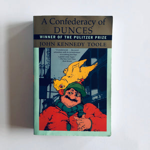 Paperback book: A Confederacy of Dunces by John Kennedy Toole