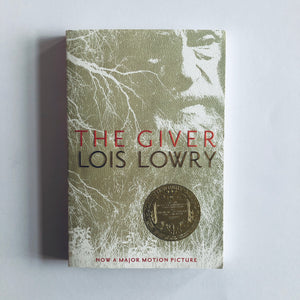 Paperback book: The Giver by Lois Lowry