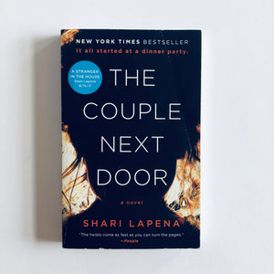 Paperback book: The Couple Next Door by Shari Lapena
