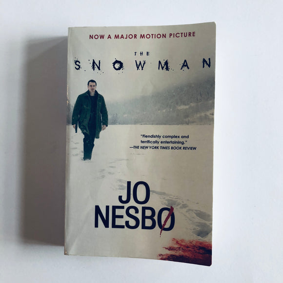 Paperback book: The Snowman by Jo Nesbo