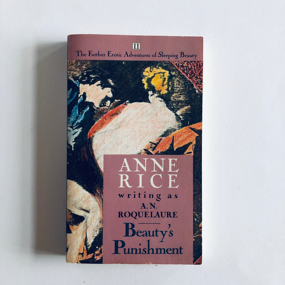 Paperback book: Beauty's Punishment by Anne Rice