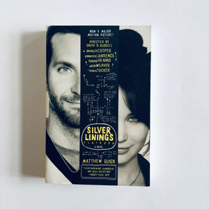 Paperback book: The Silver Linings Playbook by Matthew Quick