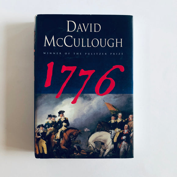 Hardcover book: 1776 by David McCullough