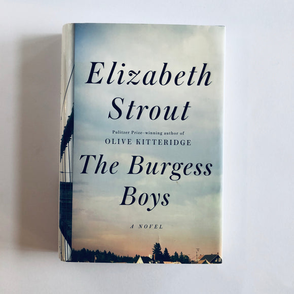 Hardcover book: The Burgess Boys by Elizabeth Strout