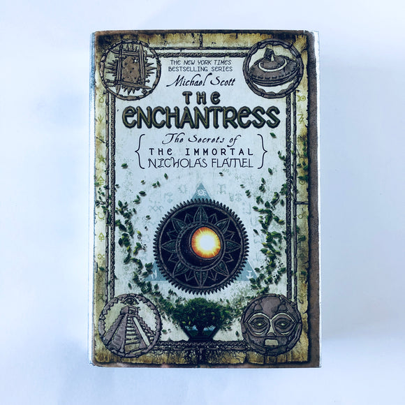 Hardcover book: The Enchantress by Michael Scott