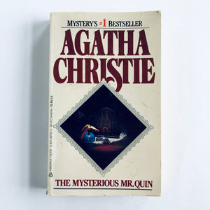 Paperback book: The Mysterious Mr. Quin by Agatha Christie
