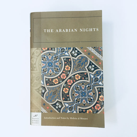 Paperback book: The Arabian Nights