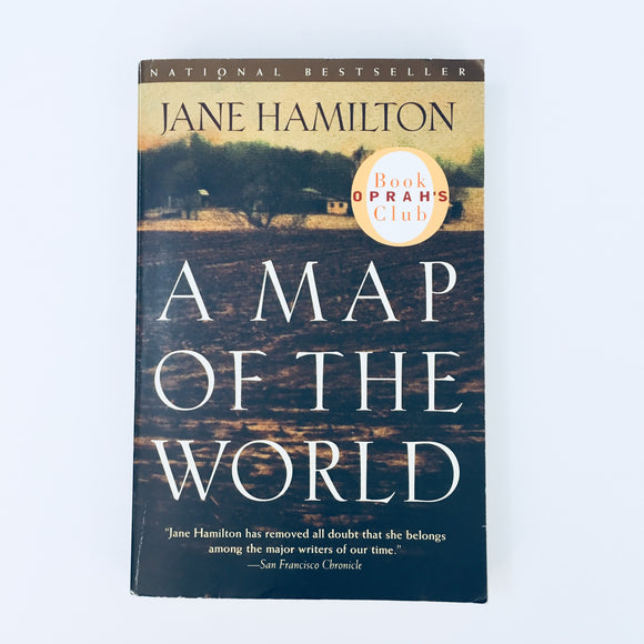 Paperback book: A Map of the World by Jane Hamilton