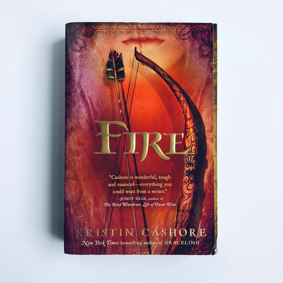 Paperback book: Fire by Kristin Cashore