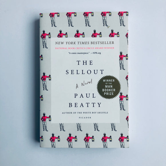 Paperback book: The Sellout by Paul Beatty
