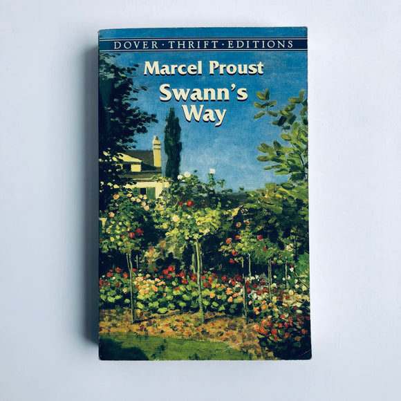 Paperback book: Swann's Way by Marcel Proust