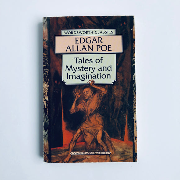 Paperback book: Tales of Mystery and Imagination by Edgar Allan Poe