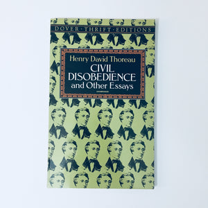 Civil Disobedience  Other Essays By Henry David Thoreau  Paperback Book Civil Disobedience  Other Essays By Henry David Thoreau