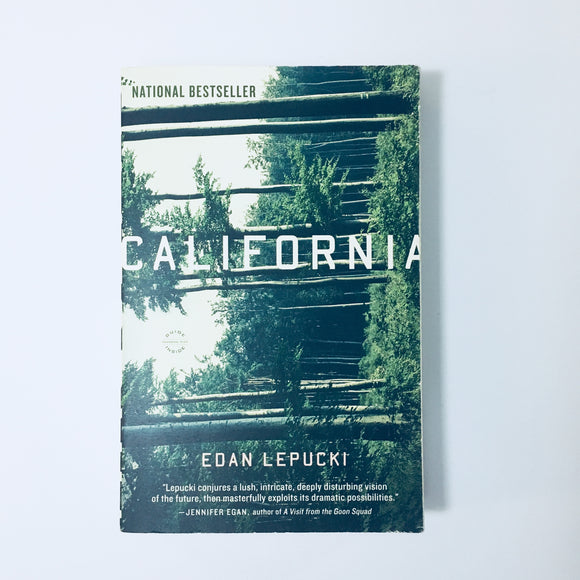 Paperback book: California by Edan Lepucki