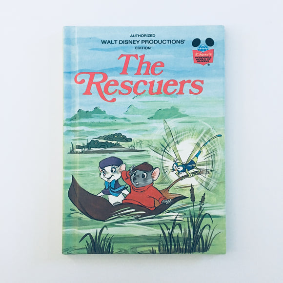 Hardcover book: Disney's The Rescuers