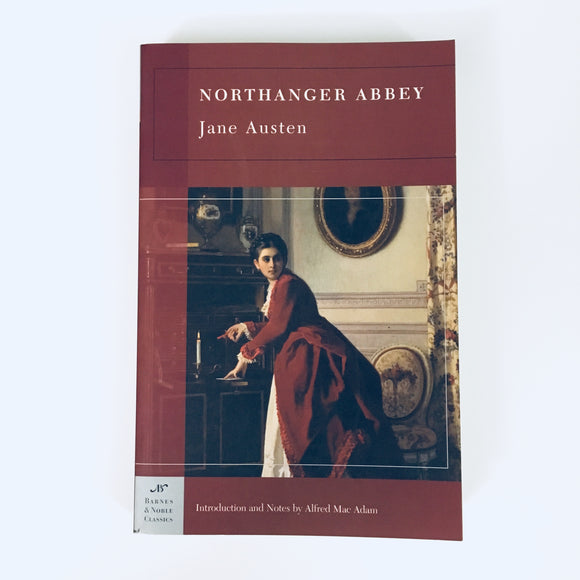 Paperback book: Northanger Abbey by Jane Austen