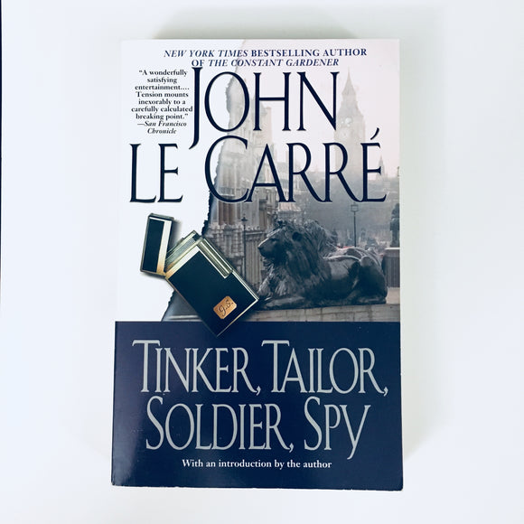 Paperback book: Tinker, Tailor, Soldier, Spy by John Le Carre