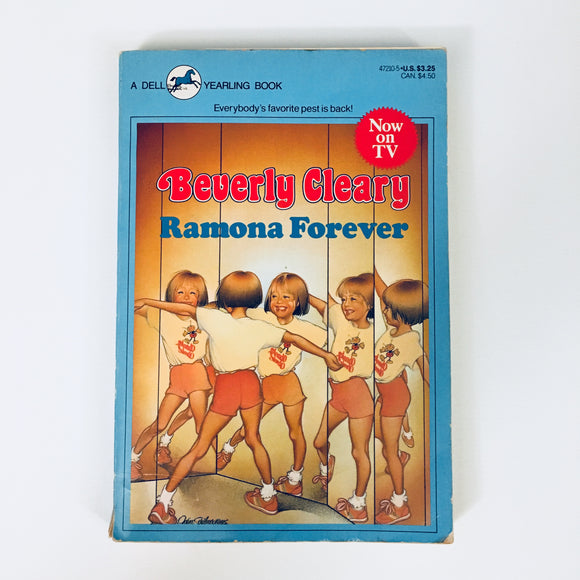 Paperback book: Ramona Forever by Beverly Cleary