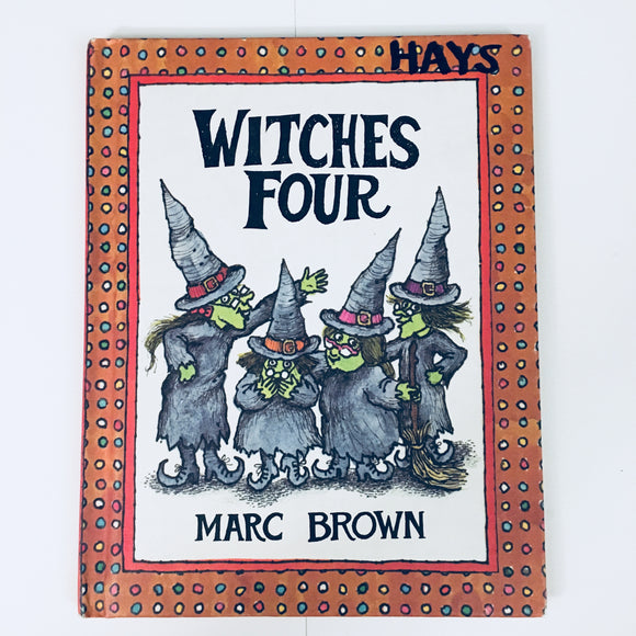 Hardcover children's book: Witches Four by Marc Brown