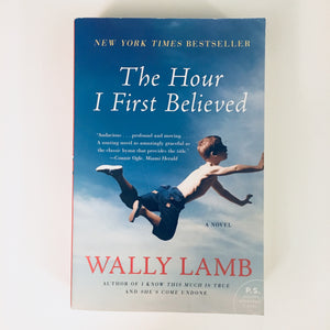Paperback book: The Hour I First Believed by Wally Lamb