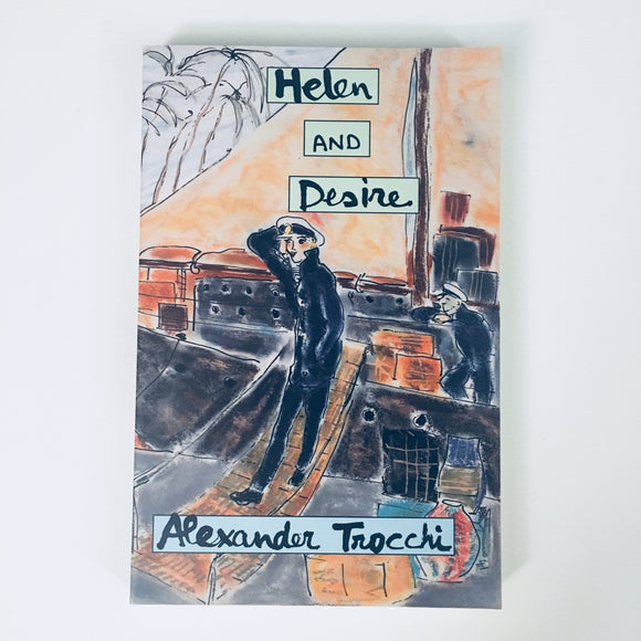 Paperback book: Helen and Desire by Alexander Trocchi