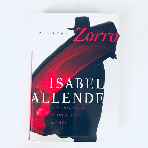 Hardcover book: Zorro by Isabel Allende