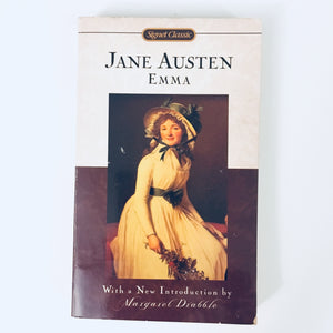 Paperback book: Emma by Jane Austen