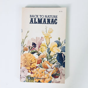 Paperback Book: Back to Nature Almanac