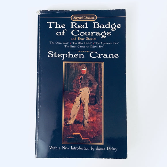 Paperback book: The Red Badge of Courage and Four Stories by Stephen Crane