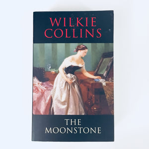 Paperback book: The Moonstone by Wilkie Collins