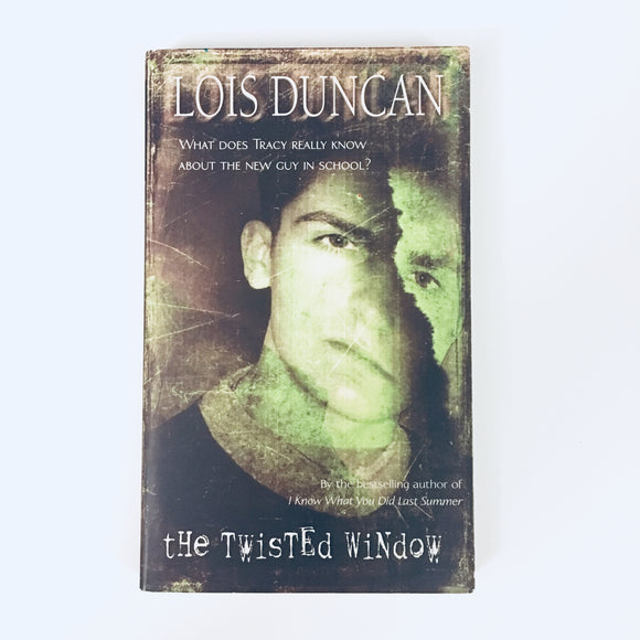 Paperback book: The Twisted Window by Lois Duncan