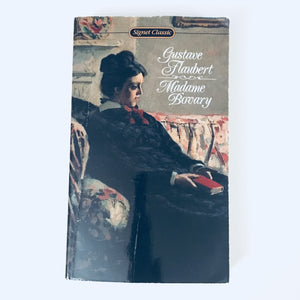 Paperback book: Madame Bovary by Gustave Flaubert
