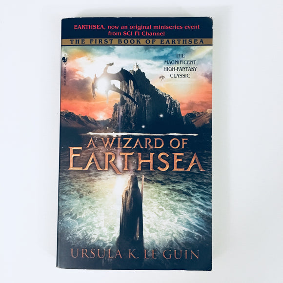 Paperback book: A Wizard of Earthsea by Ursula LeGuin