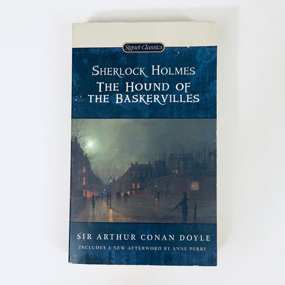 Paperback book: The Hound of the Baskervilles by Sir Arthur Conan Doyle