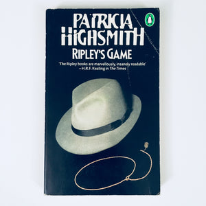 Paperback book: Ripley's Game by Patricia Highsmith