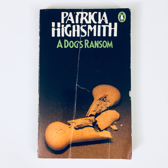 Paperback book: A Dog's Ransom by Patricia Highsmith
