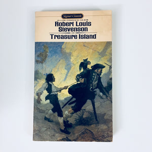 Paperback book: Treasure Island by Robert Louis Stevenson