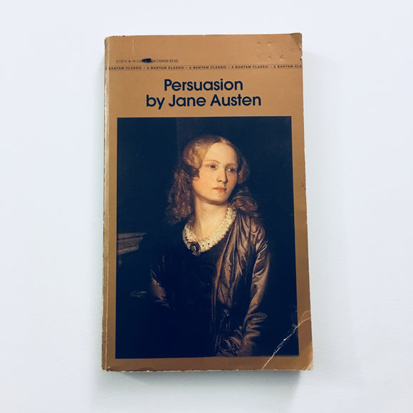 Paperback book: Persuasion by Jane Austen
